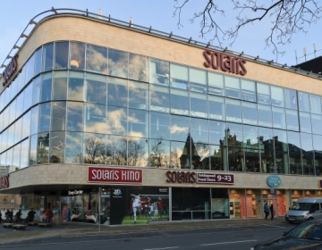 Solaris Keskus, Rävala pst. 2, Tallinn 2009